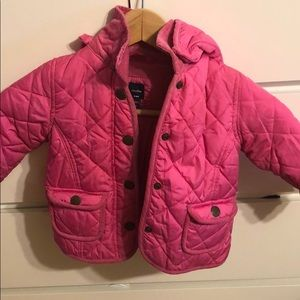 Other - Quilted baby girls jacket